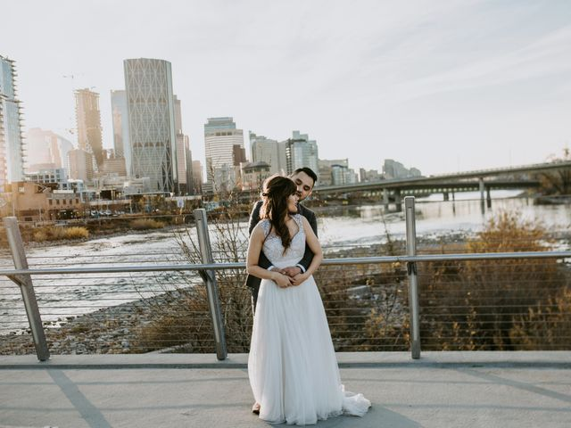 Jake and Riya's wedding in Calgary, Alberta 39