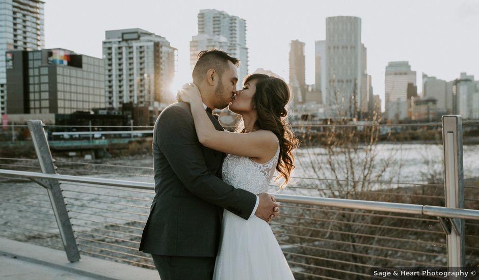 Jake and Riya's wedding in Calgary, Alberta