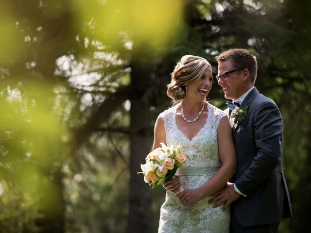 The wedding of Sayward and Andy