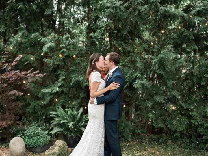 The wedding of Lauren and John