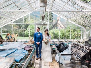 The wedding of Michiko and Ricky
