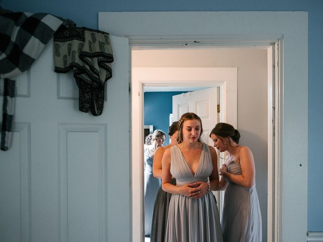 Andy and Britni's wedding in Prince Edward County, Ontario 11