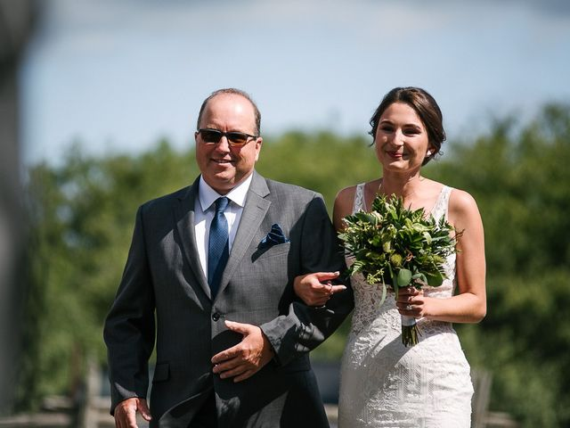 Andy and Britni's wedding in Prince Edward County, Ontario 29
