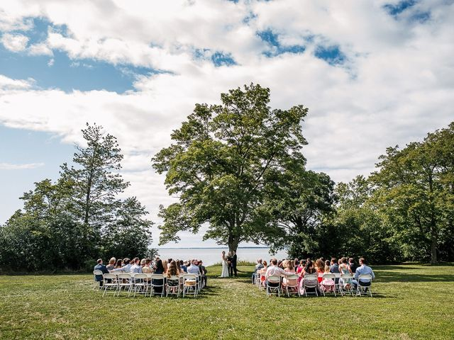 Andy and Britni's wedding in Prince Edward County, Ontario 30