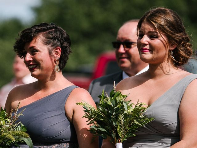Andy and Britni's wedding in Prince Edward County, Ontario 32