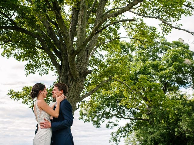 Andy and Britni's wedding in Prince Edward County, Ontario 38