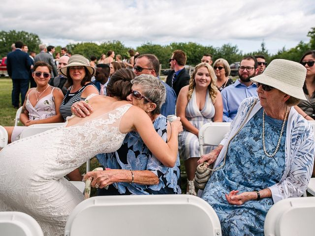 Andy and Britni's wedding in Prince Edward County, Ontario 41
