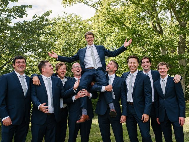 Andy and Britni's wedding in Prince Edward County, Ontario 46