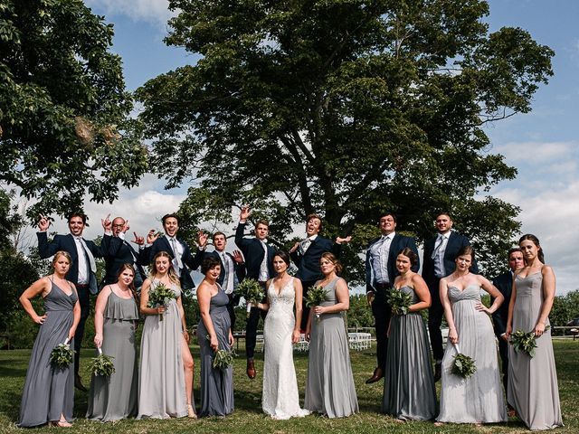 Andy and Britni's wedding in Prince Edward County, Ontario 47