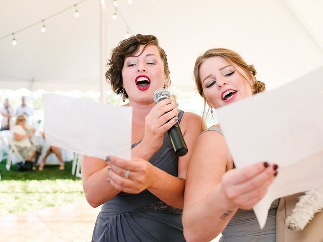 Andy and Britni's wedding in Prince Edward County, Ontario 61