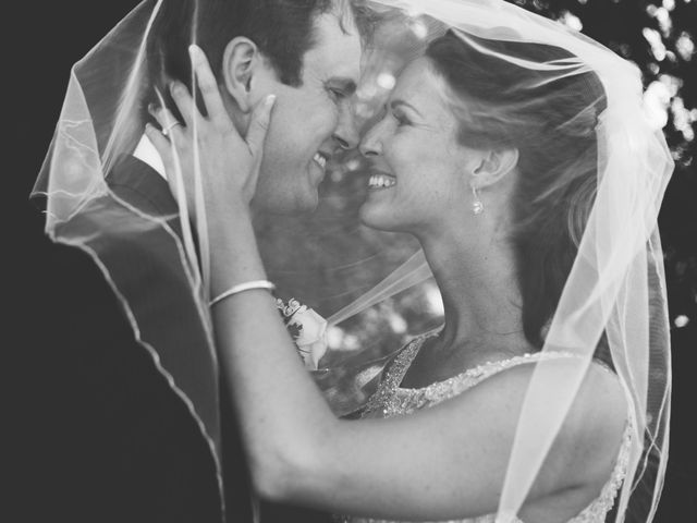 The wedding of Brooke and Tom