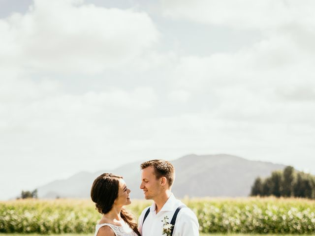Dave and Taleah's wedding in Chilliwack, British Columbia 1