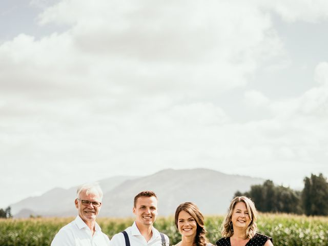 Dave and Taleah's wedding in Chilliwack, British Columbia 7