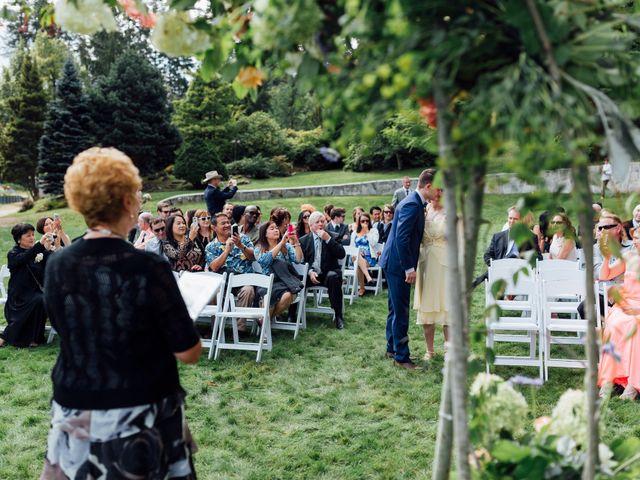 Ricky and Michiko's wedding in Nelson, British Columbia 32
