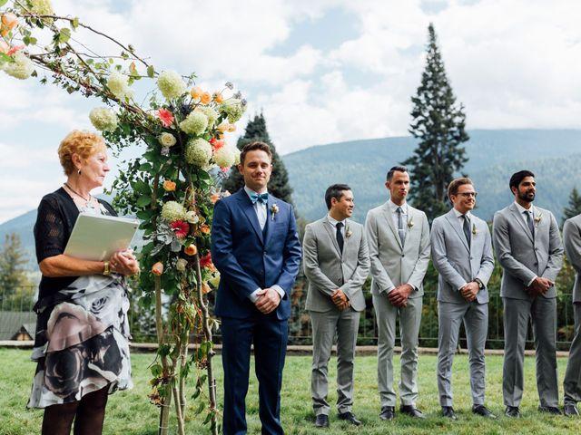 Ricky and Michiko's wedding in Nelson, British Columbia 38