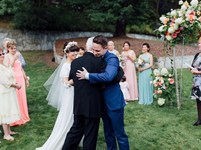 Ricky and Michiko's wedding in Nelson, British Columbia 42