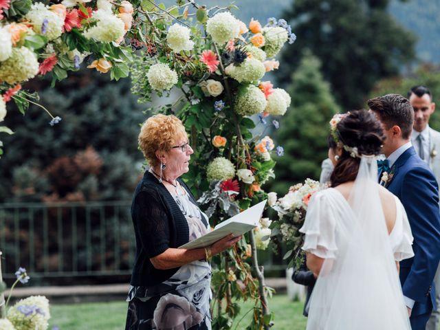 Ricky and Michiko's wedding in Nelson, British Columbia 45