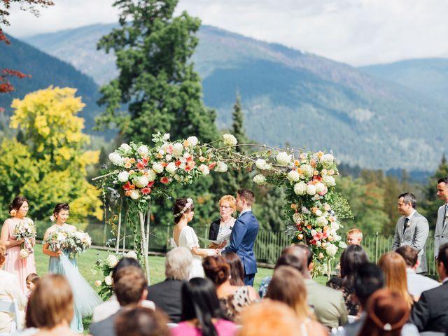 Ricky and Michiko's wedding in Nelson, British Columbia 51