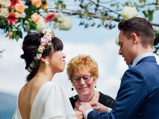 Ricky and Michiko's wedding in Nelson, British Columbia 52