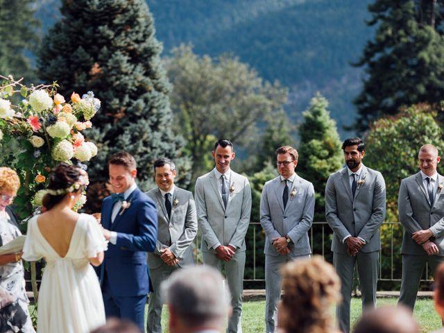 Ricky and Michiko's wedding in Nelson, British Columbia 54