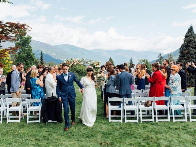 Ricky and Michiko's wedding in Nelson, British Columbia 63