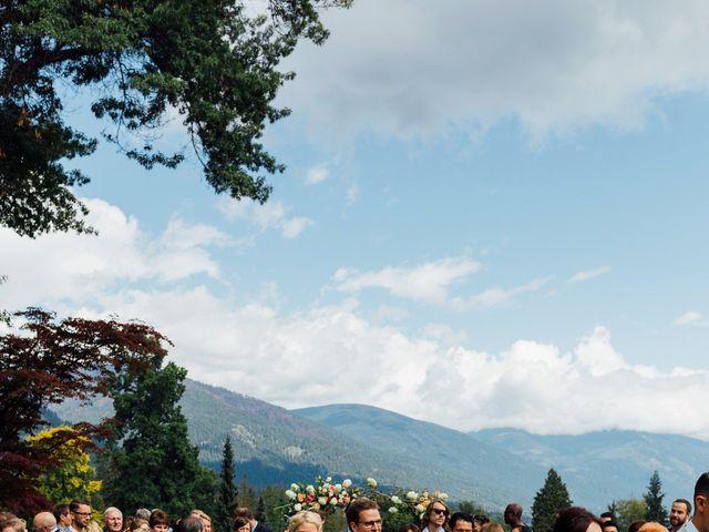 Ricky and Michiko's wedding in Nelson, British Columbia 66
