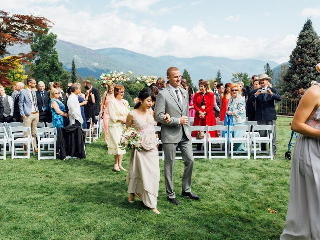 Ricky and Michiko's wedding in Nelson, British Columbia 68