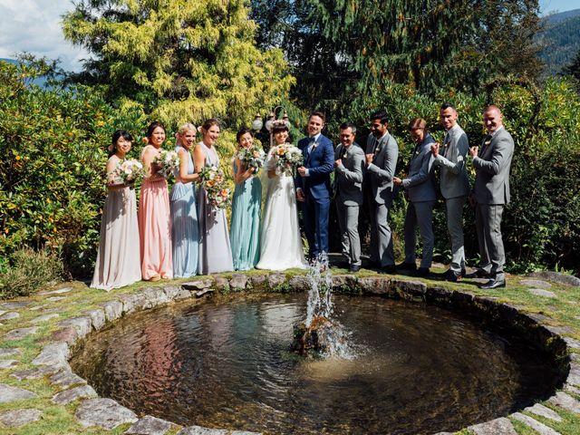 Ricky and Michiko's wedding in Nelson, British Columbia 77