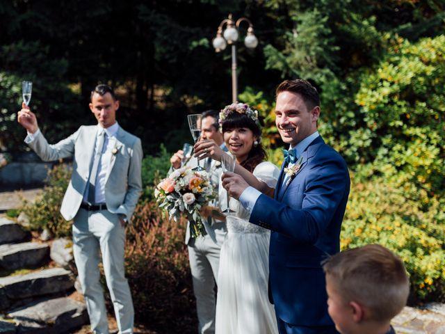 Ricky and Michiko's wedding in Nelson, British Columbia 82