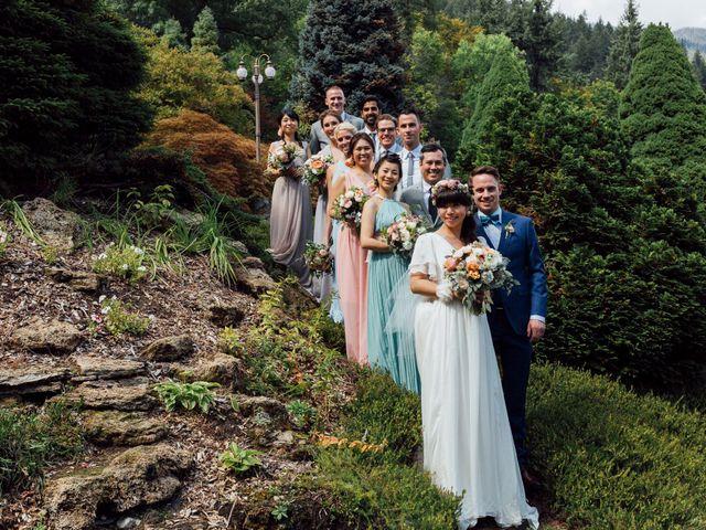 Ricky and Michiko's wedding in Nelson, British Columbia 86