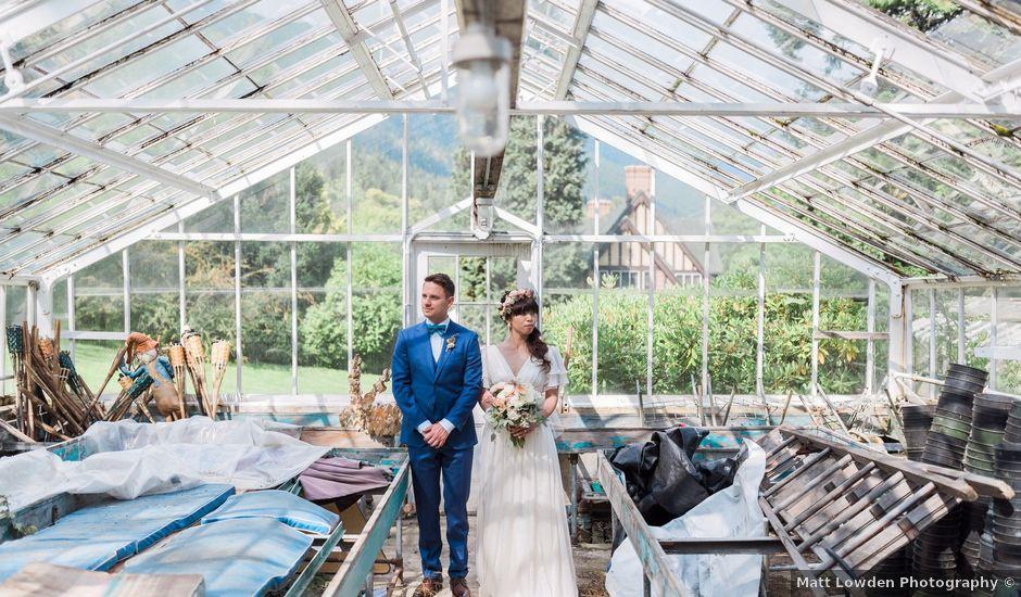 Ricky and Michiko's wedding in Nelson, British Columbia