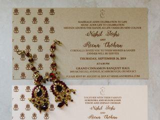 The wedding of Reena and Nishil 2