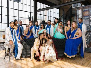 The wedding of Reena and Nishil
