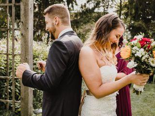 The wedding of Alexandra and Paul