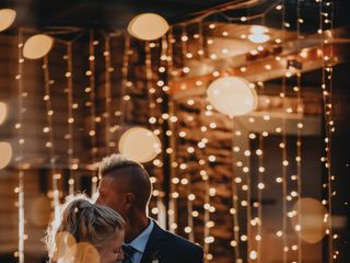The wedding of Taylor and Tracen