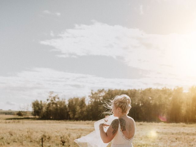 Tracen and Taylor's wedding in Spruce Grove, Alberta 19