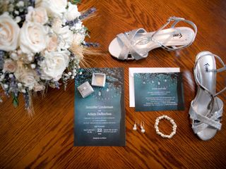 The wedding of Jennifer and Adam 1