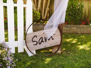 The wedding of Samantha and Sam 2