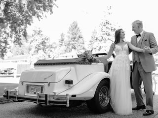 The wedding of Samantha and Sam
