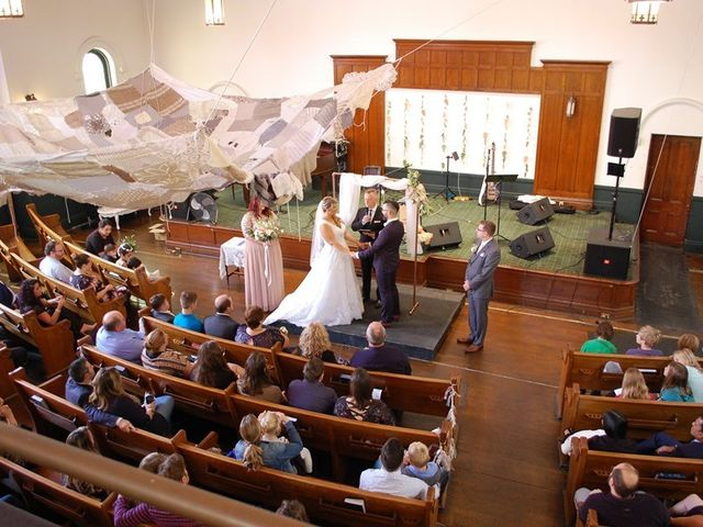 The wedding of Sonia and Nathan