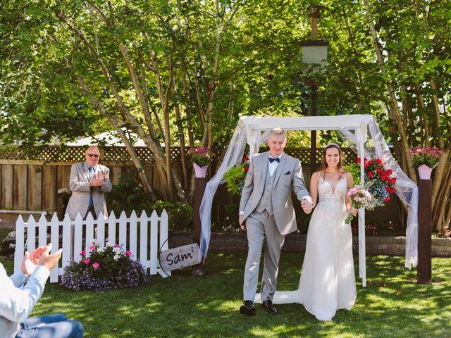 Sam and Samantha's wedding in Tsawwassen, British Columbia 12