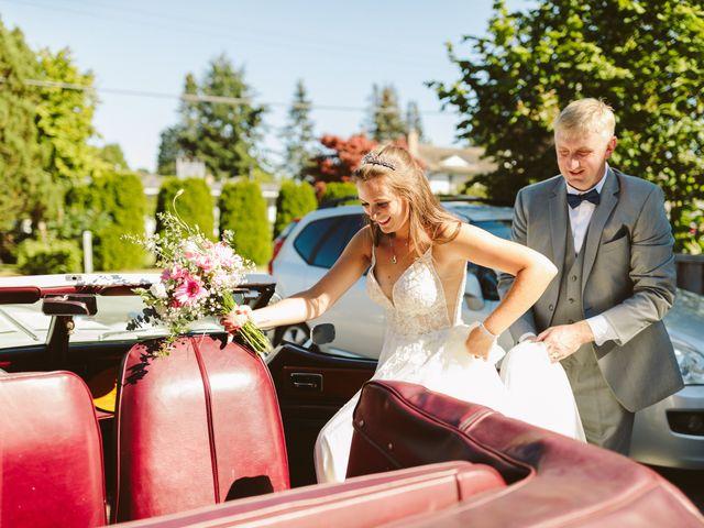Sam and Samantha's wedding in Tsawwassen, British Columbia 14