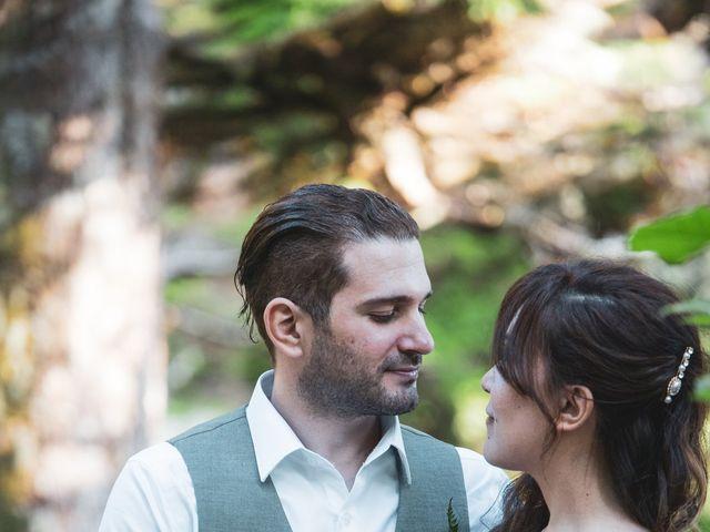 Lucas and Silvana's wedding in Tofino, British Columbia 1