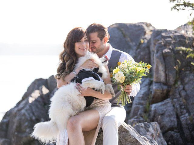 Lucas and Silvana's wedding in Tofino, British Columbia 8