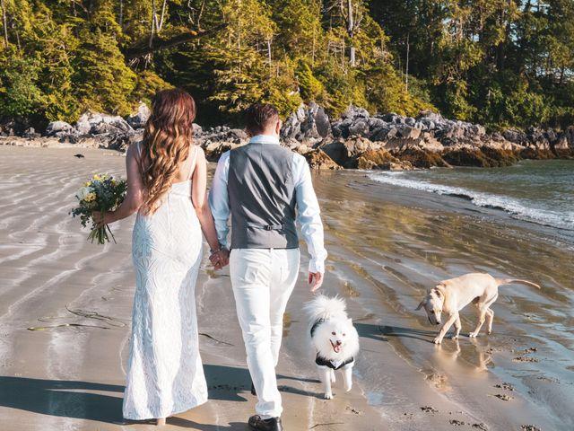 Lucas and Silvana's wedding in Tofino, British Columbia 10