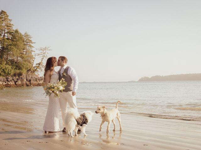 Lucas and Silvana's wedding in Tofino, British Columbia 11