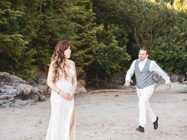 Lucas and Silvana's wedding in Tofino, British Columbia 14