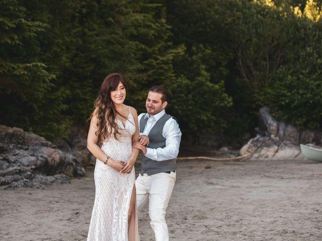 Lucas and Silvana's wedding in Tofino, British Columbia 16