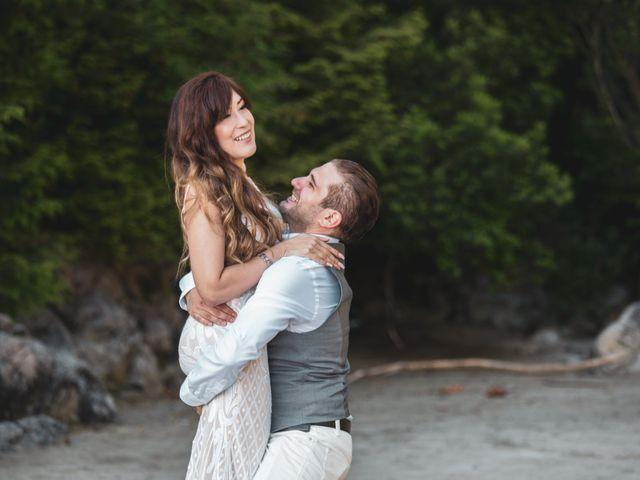 Lucas and Silvana's wedding in Tofino, British Columbia 18