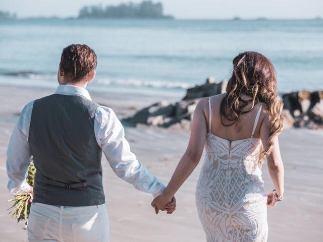 Lucas and Silvana's wedding in Tofino, British Columbia 29